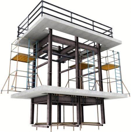 Пример разработки ППР, 3D строительные модели
