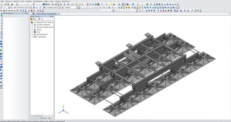 3D модель Компас 3D, рендеринг моделей Компас