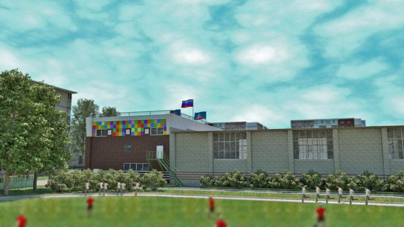 Дом в Компасе 3D