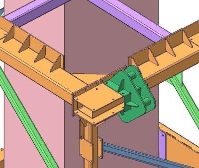 3D модель Компас, Моделирование в Компас 3D, Узел конструкции