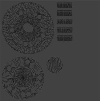 UV-развёртка, Модели Компас 3D, Визуализация Компас 3D