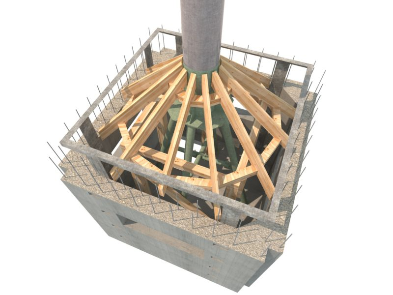 3D модели, бетонирование конструкций, проект производства работ