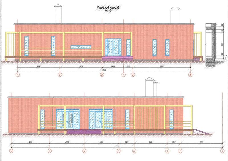 Проектирование коттеджа, проект коттеджа, архитектура